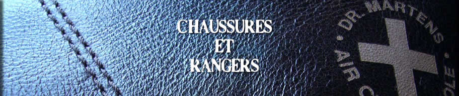Chaussures, Rangers
